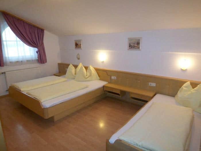 Schlafzimmer Appartement Typ C