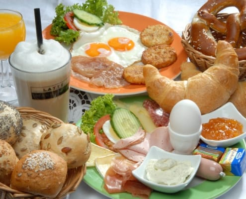 Frühstück Appartements